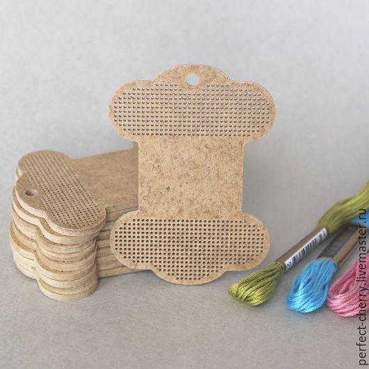 """Вышивка ручной работы. Ярмарка Мастеров - ручная работа. Купить Основа для вышивания """"Бобина для лент"""". Handmade. Бежевый, вышивка"""