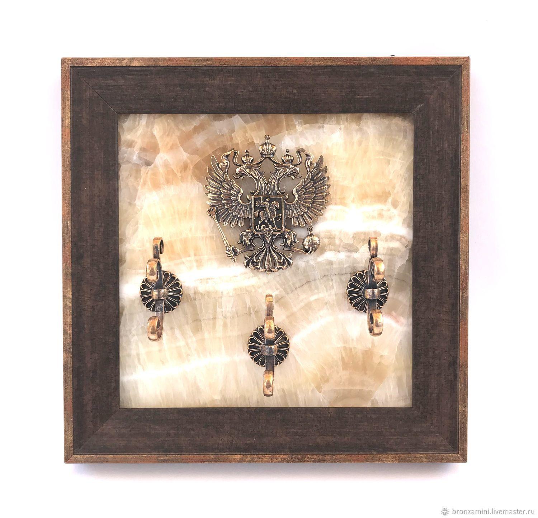 Ключница Герб Российской Федерации, Картины, Кисловодск,  Фото №1