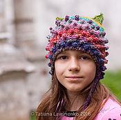 Работы для детей, ручной работы. Ярмарка Мастеров - ручная работа Шапка с ушами. Handmade.