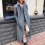 Одежда ручной работы. Ярмарка Мастеров - ручная работа Пальто женское утепленное Gradient. Handmade.