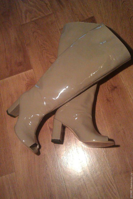 Обувь ручной работы. Ярмарка Мастеров - ручная работа. Купить Сапожки (54). Handmade. Комбинированный, индивидуальный пошив