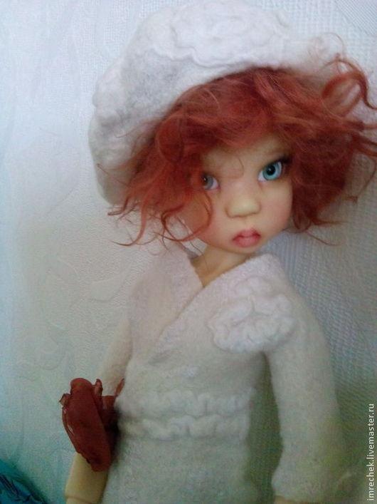 Одежда для кукол ручной работы. Ярмарка Мастеров - ручная работа. Купить Комплект Нежный для кукол Kaye Wiggs. Handmade. Белый