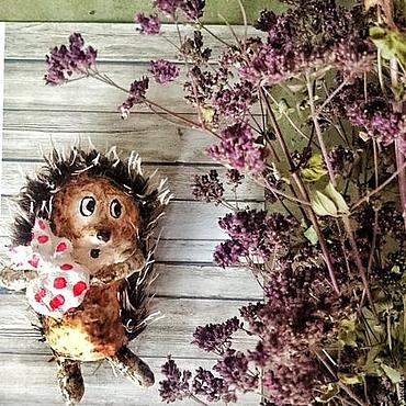 Куклы и игрушки ручной работы. Ярмарка Мастеров - ручная работа Про ёжика. Handmade.