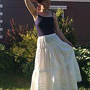 Одежда handmade. Livemaster - original item Cotton petticoat, petticoat