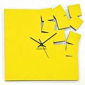 Для дома и интерьера ручной работы. Ярмарка Мастеров - ручная работа Часы настенные из акрилового стекла Осколки времени. Handmade.
