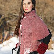 Одежда ручной работы. Ярмарка Мастеров - ручная работа Пальто валяное Амелия. Handmade.