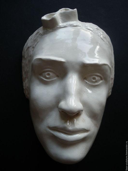 """Интерьерные  маски ручной работы. Ярмарка Мастеров - ручная работа. Купить """"Ты меня огорчаешь"""". Handmade. Серый, скульптура"""