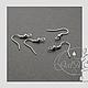 Для украшений ручной работы. Швензы хирургическая сталь противоалергенные.. GalA beads. Интернет-магазин Ярмарка Мастеров. Швензы