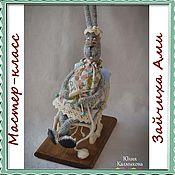 """Куклы и игрушки ручной работы. Ярмарка Мастеров - ручная работа Мастер - класс """"Зайчиха Ами"""". Handmade."""