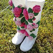 Footwear handmade. Livemaster - original item Boots for the street.. Handmade.