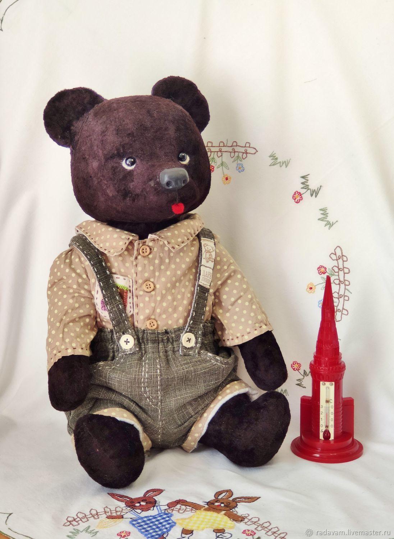 Медведь с ревуном советский, Мишки Тедди, Шаховская,  Фото №1