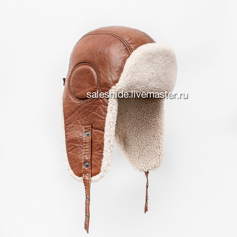 Шапки ручной работы. Ярмарка Мастеров - ручная работа. Купить Мужская шапка  ушанка из меха ... 65c00c2730515