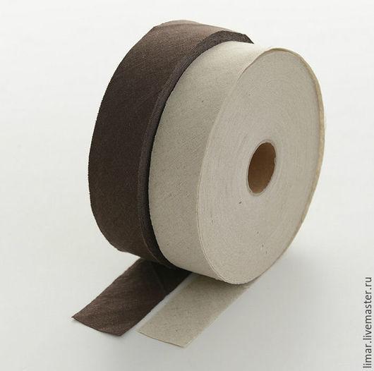 """Шитье ручной работы. Ярмарка Мастеров - ручная работа. Купить Полоса из ткани """"Лен"""", два цвета. Handmade. Шитье, разноцветный"""