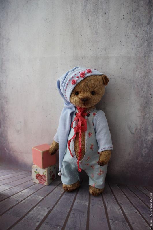 Мишки Тедди ручной работы. Ярмарка Мастеров - ручная работа. Купить Эми. Handmade. Голубой, мишки, мишки Тедди купить