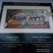 """Набор для вышивания крестом """"Маленькие котята"""" DIMENSIONS"""