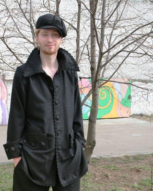 Для мужчин, ручной работы. Ярмарка Мастеров - ручная работа. Купить мужской костюм НА ВСЕ СЛУЧАИ. Handmade. Черный