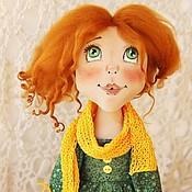 Куклы и игрушки ручной работы. Ярмарка Мастеров - ручная работа Текстильная кукла Рыжая Осень. Handmade.