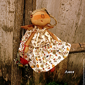 Куклы и игрушки ручной работы. Ярмарка Мастеров - ручная работа Кукла Люся.. Handmade.