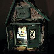 Куклы и игрушки ручной работы. Ярмарка Мастеров - ручная работа Домик в старом саду. Handmade.