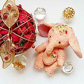 Куклы и игрушки ручной работы. Ярмарка Мастеров - ручная работа Слоник подружка Тэдди. Handmade.