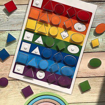 Куклы и игрушки ручной работы. Ярмарка Мастеров - ручная работа Цвет и форма. Handmade.