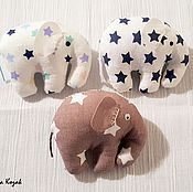 Сувениры и подарки ручной работы. Ярмарка Мастеров - ручная работа Магнит слоник звездочки. Handmade.