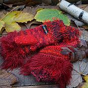 Аксессуары handmade. Livemaster - original item Knitted mittens. Winter accessory. Handmade.