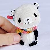 Куклы и игрушки ручной работы. Ярмарка Мастеров - ручная работа Маленькая панда. Handmade.