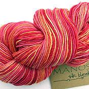 Материалы для творчества handmade. Livemaster - original item Manos Silk Blend DK PEACH MELBA. Handmade.