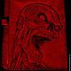 """Блокноты ручной работы. Ярмарка Мастеров - ручная работа. Купить Блокнот """"Восставший утром в понедельник"""". Handmade. Коричневый, мертвец, выжигание"""