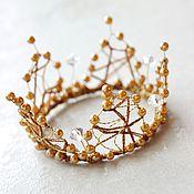 Украшения ручной работы. Ярмарка Мастеров - ручная работа Золотая корона. Handmade.