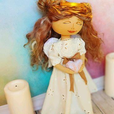Для дома и интерьера ручной работы. Ярмарка Мастеров - ручная работа Кукла для интерьера Хранительница семейного очага. Handmade.