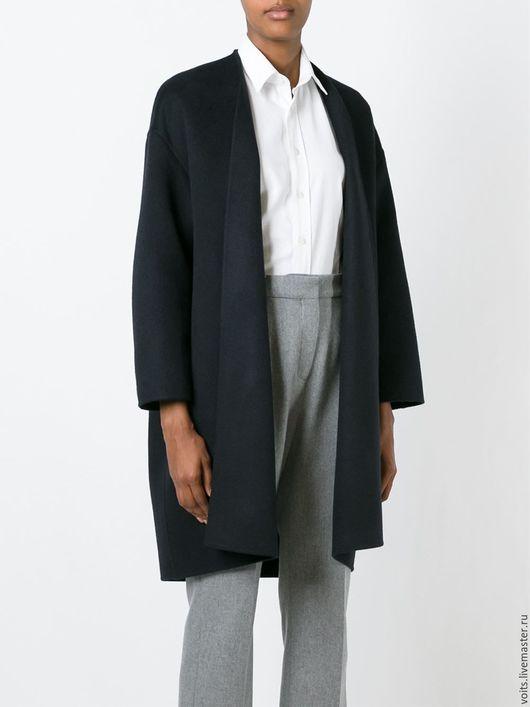 """Верхняя одежда ручной работы. Ярмарка Мастеров - ручная работа. Купить Свободное пальто """"Saint"""". Handmade. Черный, пальто из шерсти"""