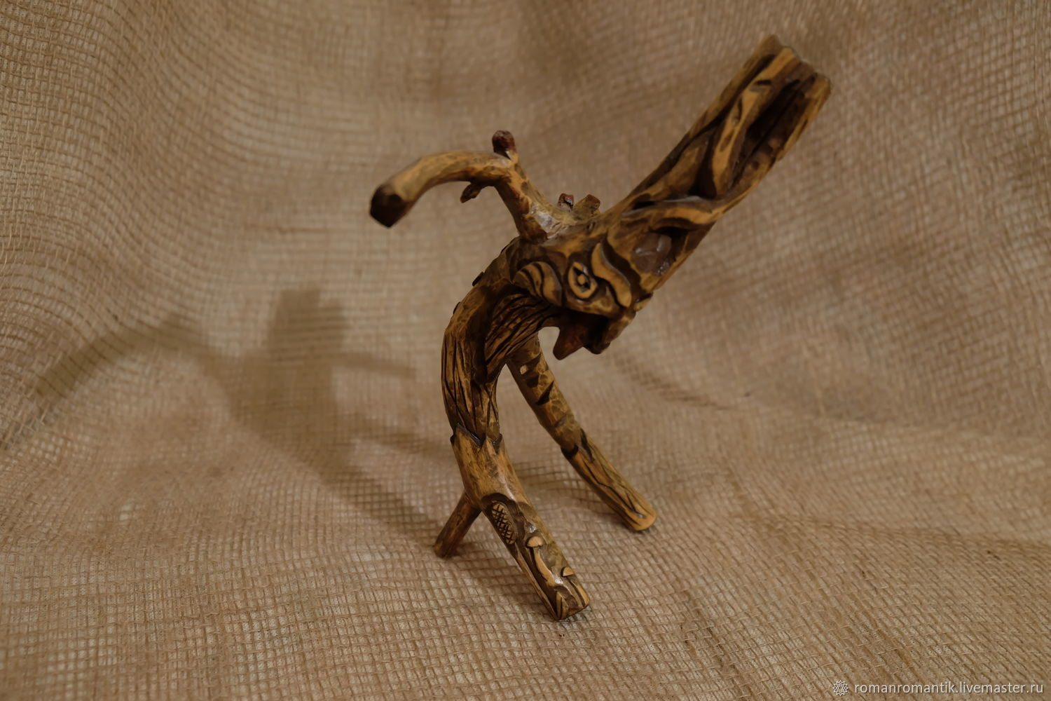 Figurines: Leshiy from Linden twigs, Figurines in Russian style, Istra,  Фото №1