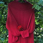 Платья ручной работы. Ярмарка Мастеров - ручная работа Платье вязанное. из мериноса. Handmade.