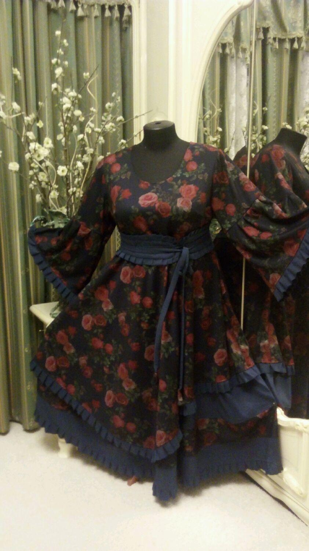 Большие размеры. Платье в стиле бохо, Платья, Москва,  Фото №1
