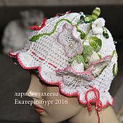 Работы для детей, ручной работы. Ярмарка Мастеров - ручная работа шапка колокольчик. Handmade.
