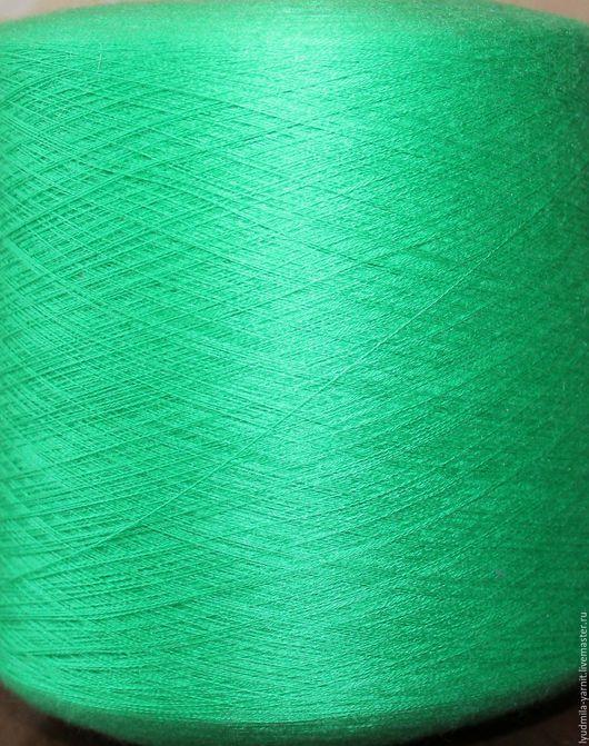 Вязание ручной работы. Ярмарка Мастеров - ручная работа. Купить Кашемир/шелк LORO PIANA art MEADOW GREEN, цвет зеленый луг. Handmade.