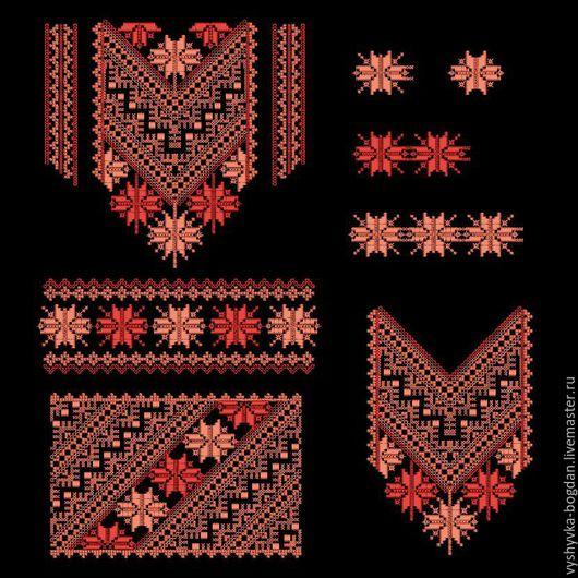 Комплект дизайнов для машинной вышивки отличного качества. Дизайны созданы в разных техника. Выглядит самобытно.  Форматы: :pes, hus, jef, dst, exp, vp3, vip, xxx.