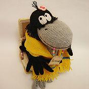 Куклы и игрушки ручной работы. Ярмарка Мастеров - ручная работа Прелестная ворона. Handmade.