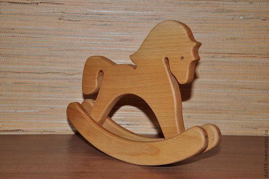 Кукольный дом ручной работы. Ярмарка Мастеров - ручная работа. Купить лошадка-качалочка. Handmade. Бежевый, деревянная заготовка
