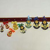 Куклы и игрушки ручной работы. Ярмарка Мастеров - ручная работа Развивающая игрушка Матрёшки. Handmade.