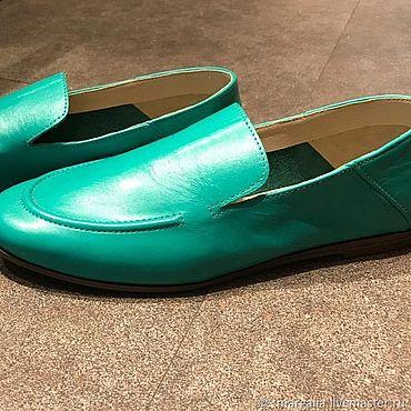 Обувь ручной работы. Ярмарка Мастеров - ручная работа Макасины мужские. Handmade.