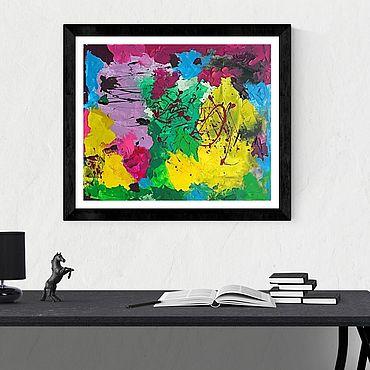 Картины и панно ручной работы. Ярмарка Мастеров - ручная работа Абстрактная композиция. Handmade.