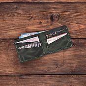 Сумки и аксессуары handmade. Livemaster - original item Rome genuine leather wallet. Handmade.