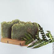 Косметика ручной работы. Ярмарка Мастеров - ручная работа Натуральное мыло Полынь степная с нуля, Мыло травяное. Handmade.