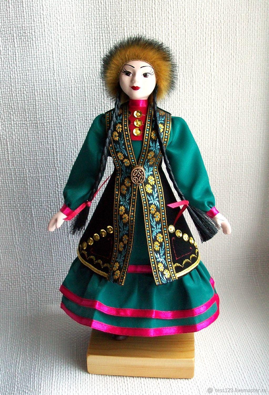 Кукла в башкирском костюме Айсылу – заказать на Ярмарке ...