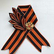 Подарки к праздникам handmade. Livemaster - original item Brooch of St. George the VICTORY PARADE. Handmade.