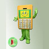 Дизайн и реклама ручной работы. Ярмарка Мастеров - ручная работа Ростовая кукла Телефон. Handmade.