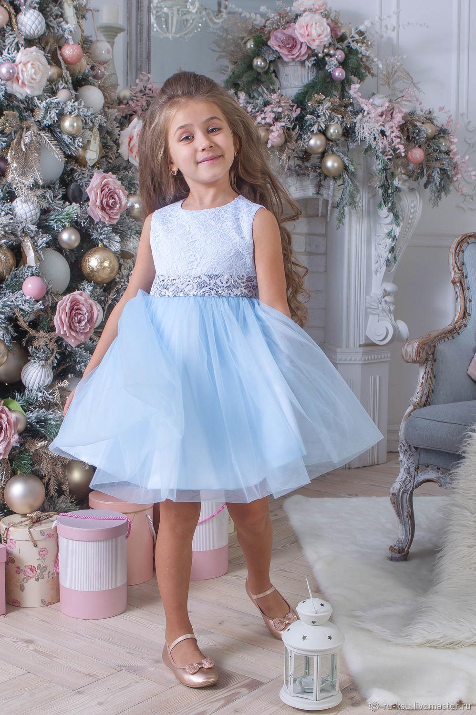 1f3fd6180f3 Детские нарядные платья – купить в интернет-магазине на Ярмарке ...